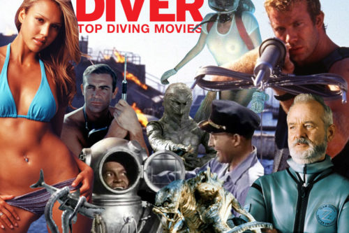 DIVER Magazine's top scuba diving movies of all time