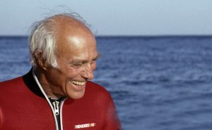 Stan Waterman: active diver at 88.  Photo: Howard Hall