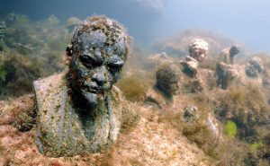 "Underwater museum ""Reddening leaders"", Vladimir Ilyich Ulyanov,"