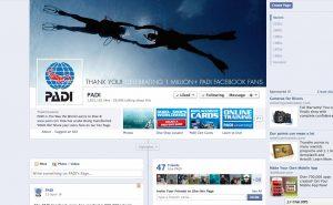 PADI facebook