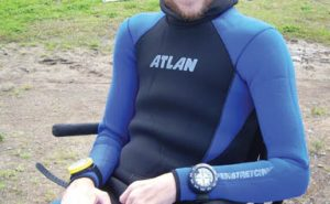 Mitch Brogan, HSA certified advanced diver. Photo: Courtesy HSA