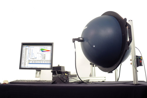 iSphere measuring device. Photo: Heidi Hall