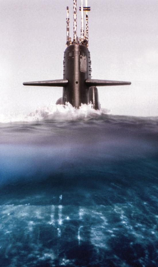 USS KAMEHAMEHA Submarine