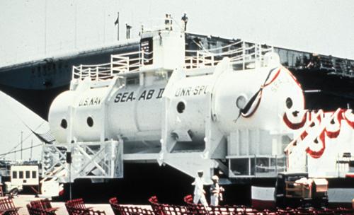Sealab 2 Photo: Sierra Cardenas, OAR/National Undersea Research Program, U.S. Navy
