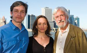 Fabien, Céline and Jean-Michel Cousteau in NYC