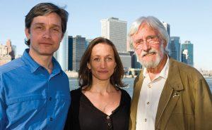 Fabien, Céline and Jean-Michel Cousteau in NYC