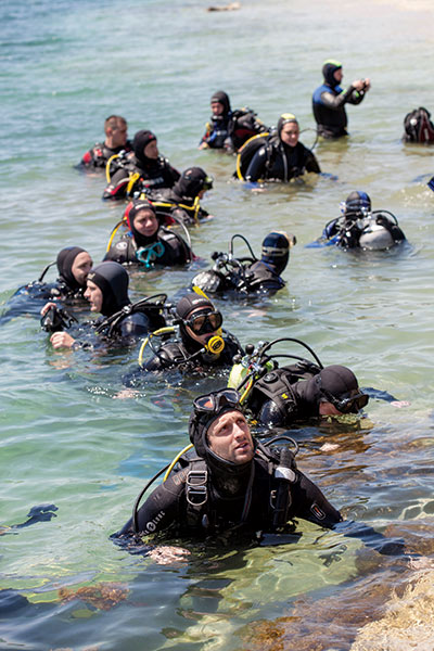 Training agencies are targetting lapsed divers and have designed purpose-built courses to retrain them. Many divers say they dropped out because 'life got in the way', and not for any diving-specific reason. Photo: Jill Heinerth