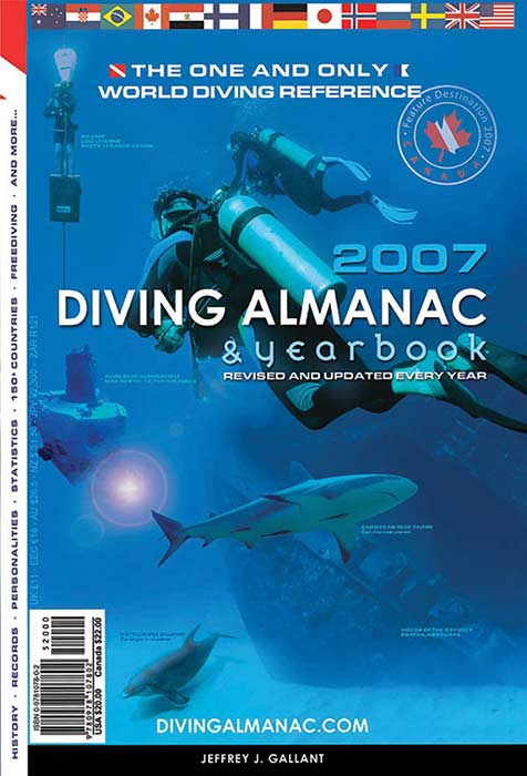 The Diving Almanac in glorious print, 2007
